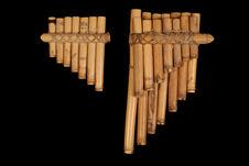 Paire de flûtes de Pan