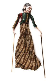 "Marionnette de ""wayang golek"" : Tjitraksi"