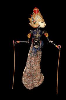 "Marionnette de ""wayang golek"" : Kresna"