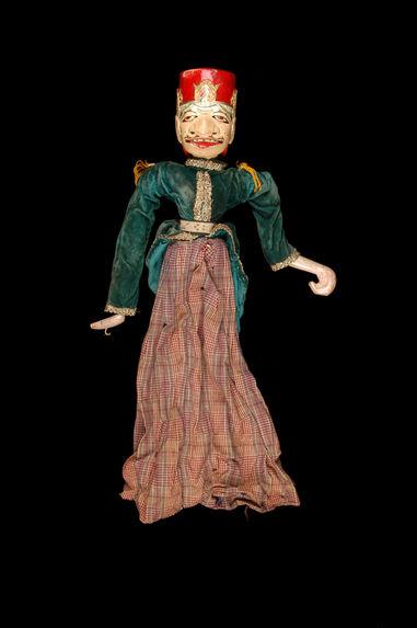 "Marionnette de ""wayang golek"" : Dorna"