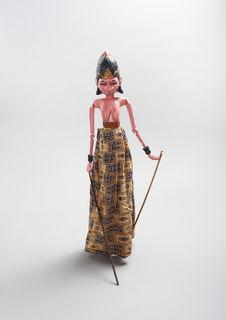 """Marionnette de """"wayang golek"""" : Permoni"""