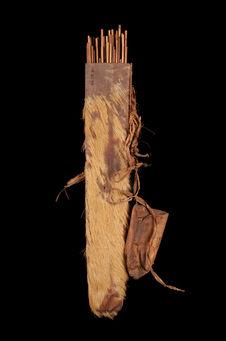 Carquois rempli de flèches
