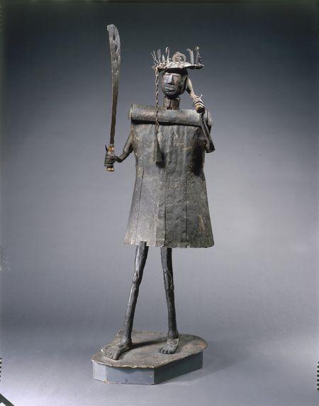 Sculpture dédiée à Gou