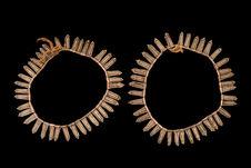 Paire de bracelets de chevilles