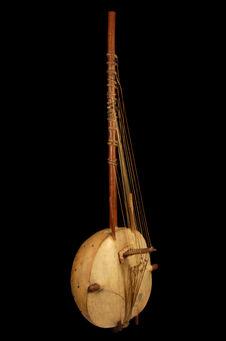 Harpe à chevalet