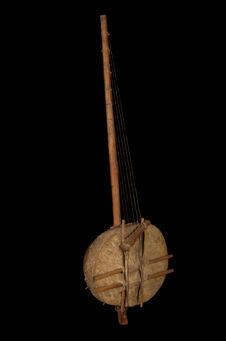 Harpe à chevalet cordier