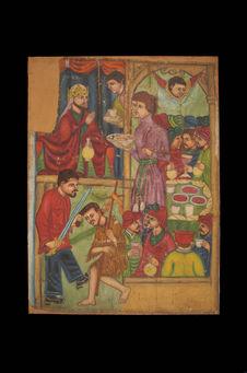 Peinture - Décollation de Saint Jean-Baptiste