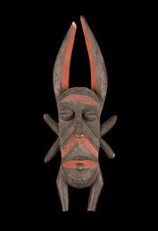 Masque facial anthropomorphe