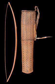 Arc, carquois, et flèches