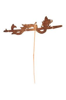 Figure d'ombres : flèche à dragon