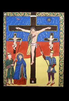 Peinture - Crucifixion