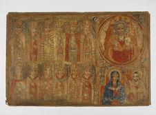 Peinture de l'église d'Abba Antonios - Dieu le Père et Pacte de grâce