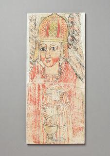 Peinture de l'église Abba Antonios : Prêtre du ciel