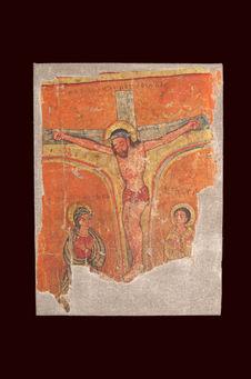 Peinture - Le Christ en Croix