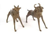 Deux figurines zoomorphes
