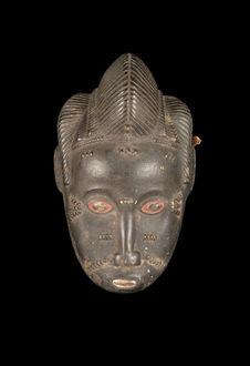 Ebauche de masque anthropomorphe