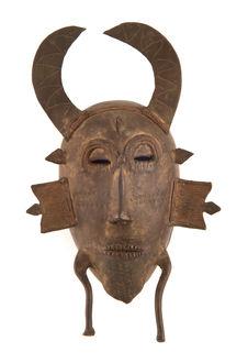 Masque anthropo-zoomorphe