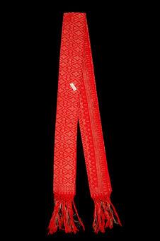 Costume de femme : écharpe