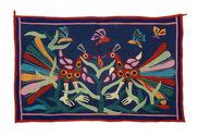 Panneau de tissu à motifs appliqués