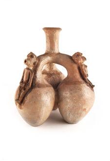Jarre triple, poterie