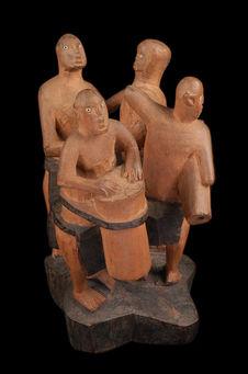 Groupe sculpté