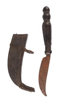 Couteau et son fourreau