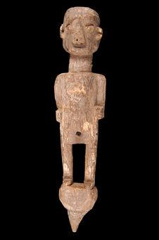 Statuette piquet anthropomorphe