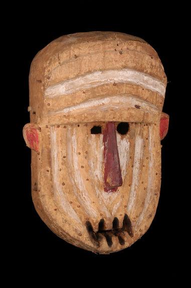 Masque zoomorphe