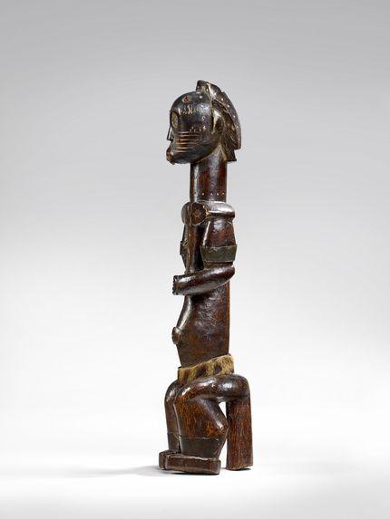 Statue de gardien de reliquaire