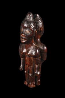 Figurine janiforme magique