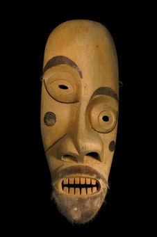 Masque au visage dissymétrique