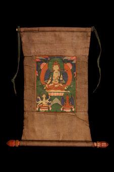 Peinture bouddhique : Sitatara