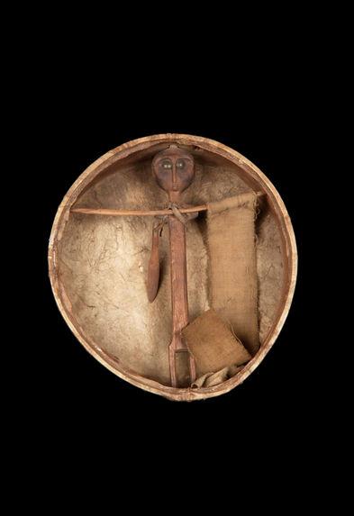Figurine anthropomorphe, support d'esprit