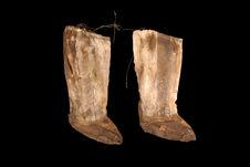 Paire de bottes de femme