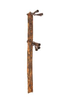 Fragment de canne chevaline de chamane (?)