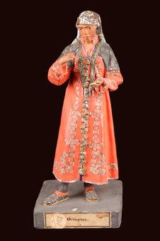 Statuette de femme khante