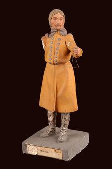 Statuette d'homme khante