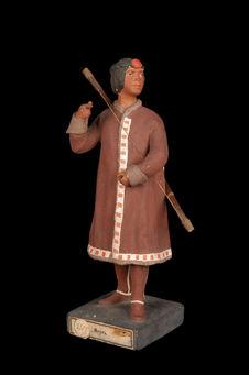 Statuette représentant un Iakoute