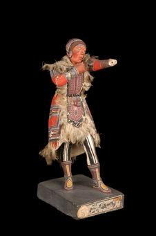 """Statuette représentant un """"Toungouse du sud&quot"""