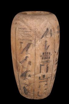 Vase canope au nom de Padineith