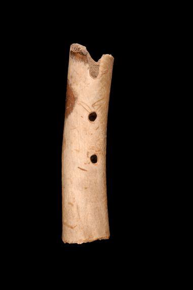 Fragment de flûte terminale à encoche