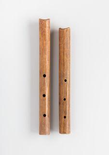 Paire de flûtes