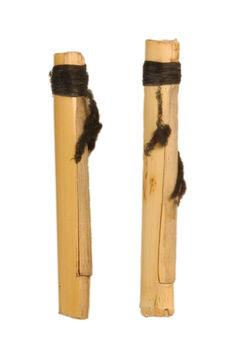 Deux anches de clarinette en roseau