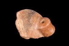 Fragment de poterie, anse