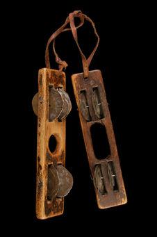 Claquette avec cymbalettes (paire)