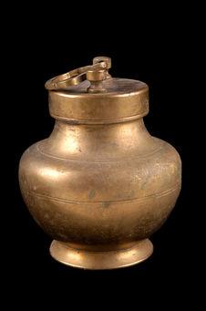 """Pot pour le """"ghee"""" avec couvercle"""