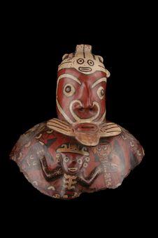 Fragment de vase anthropomorphe