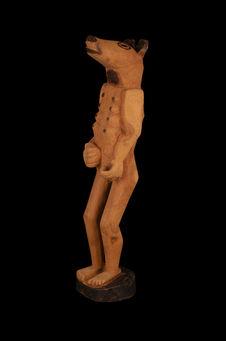 Statuette anthropozoomorphe
