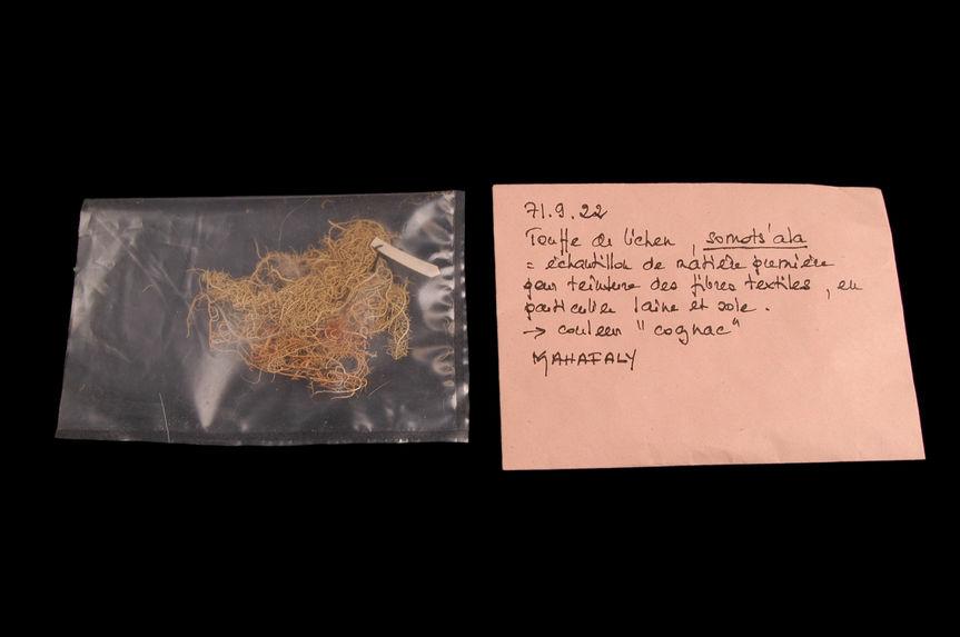 Teinture végétale traditionnelle (échantillon)