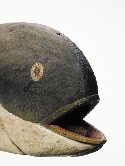 Masque cimier zoomorphe